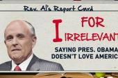 Giuliani & Palin get their weekly report card
