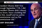 Rudy Giuliani just keeps on digging