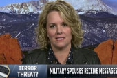 Military wife threatened online