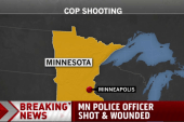Police officer shot in Minnesota
