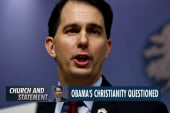 Walker: 'I don't know' if Obama is Christian