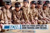 ISIS video appears to show camp for kids