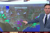 Winter weather comes to deep South