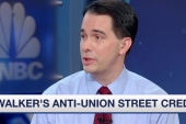 Walker's 'dangerous' union-busting policy