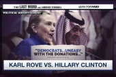 Karl Rove attacks Hillary Clinton again