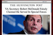 VA secretary apologizes for special forces...