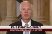Johnson: Obama, Dems holding DHS hostage