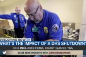 DHS shutdown would impact TSA, Coast Guard