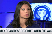 Actress: My parents were deported