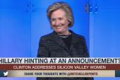 Ready for 2016? Hillary Clinton hints at run