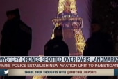 Paris on alert after drones spotted in sky