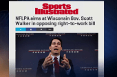 NFL players fight for workers' rights