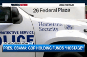 Pres. Obama goes on the offensive over DHS