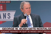 GWB: Here's what I miss most