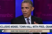 Obama challenges GOP leaders in town hall