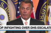 GOP in knots as DHS shutdown looms