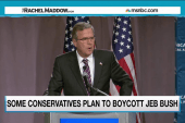Bush set to face off against conservatives