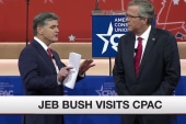 Did Jeb Bush survive CPAC?