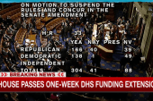 Democrats bail out Boehner on DHS funding