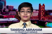 11-year-old genius enrolled in college