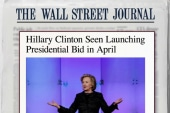 Hillary campaign may have a launch date