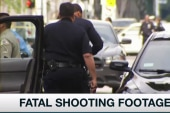 LA shooting video sparks controversy