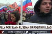 Death of Putin critic ignites massive outcry
