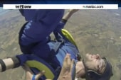 Unconscious skydiver rescued in mid-air