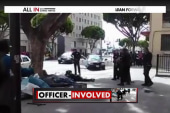 Unarmed homeless man shot dead by LAPD