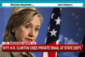 Clinton only used private email at State: NYT