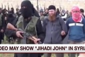 Is this the first video of 'Jihadi John'