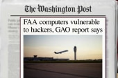 Report: FAA computers vulnerable to hackers