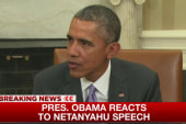 Obama: 'Nothing new' in Netanyahu's speech
