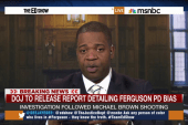 DOJ Report: Ferguson PD's racial bias
