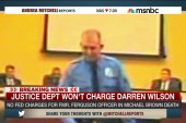 No civil rights charges for Darren Wilson