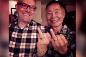 'Flipping the bird' for marriage equality