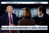 Hillary Clinton responds to email inquiries