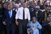 Obama's pitch-perfect moment in Alabama