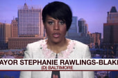 Baltimore mayor addresses Senate talk