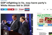 Is Virginia turning blue?