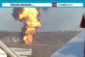 Exploding oil trains raise fears near tracks