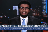 Racist chant 'not surprising' to OU student
