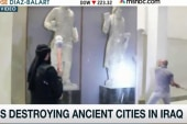Video shows ISIS destroying cultural sites