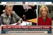 Clinton faces questions surrounding emails