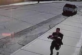Toddler's siblings chase after kidnapper