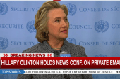 Clinton on emails: 'I opted for convenience'