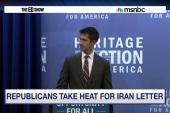 Senate GOP letter to Iran sparks outrage