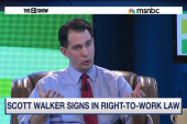 Walker delivers dangerous blow to unions