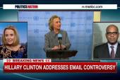 Hillary Clinton breaks her silence