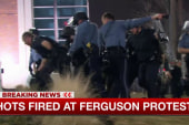 Officers shot during Ferguson protests